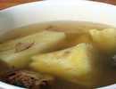 สูตรวิธีการทำของหวานไทย-หัวมันน้ำขิงร้อนๆ