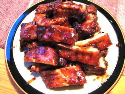 สูตรวิธีการทำอาหารจีน-นึ่ง-อบ-ตุ๋น-กระดูกหมูอบน้ำผึ้ง