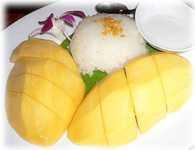 สูตรวิธีการทำของหวานไทย-ข้าวเหนียวมะม่วงสุดยอดของหวานไทย