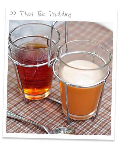สูตรวิธีการทำของหวานไทย-พุดดิ้งน้ำชาไทย