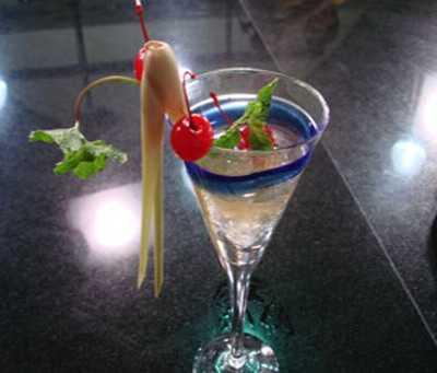 สูตรวิธีการทำของหวานไทย-วุ้นตะไคร้ลอยแก้วหอมๆ