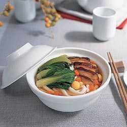 สูตรวิธีการทำอาหารไทย-อุด้งน้ำเห็ดหอม