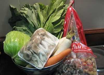 สูตรวิธีการทำอาหารไทย-อาหารเจ-ต้มจับฉ่าย