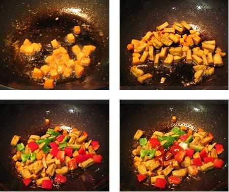 สูตรวิธีการทำอาหารไทย-อาหารเจ-ผัดโหงวก้วย