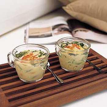 สูตรวิธีการทำอาหารไทย-ไข่ตุ๋นมักกะโรนีปูอัด