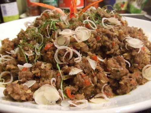 สูตรวิธีการทำอาหารไทย-เนื้อตะไคร้