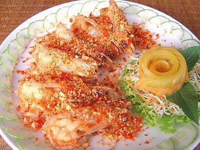 สูตรวิธีการทำอาหารไทย-กุ้งแชบ๊วยผัดพริกเกลือ