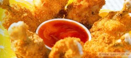 สูตรวิธีการทำอาหารไทย-ไก่ทอดทิวลิป