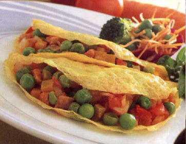 สูตรวิธีการทำอาหารไทย-ไข่ยัดไส้ผัก