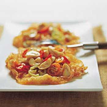 สูตรวิธีการทำอาหารไทย-ไข่ดาวสามรส