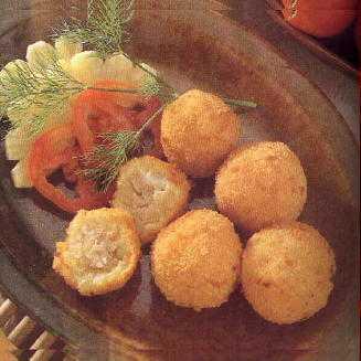 สูตรวิธีการทำอาหารไทย-มันฝรั่งทอดสอดไส้ซีฟู้ด