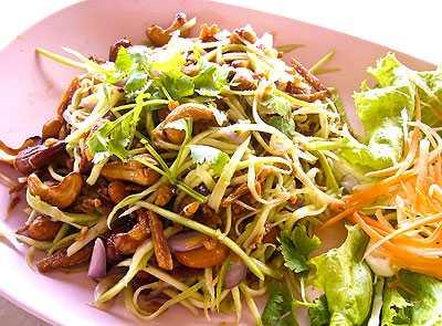 สูตรวิธีการทำอาหารไทย-ยำมะม่วง