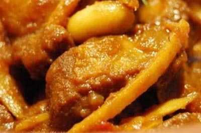 อาหารเหนือแกงฮังเล