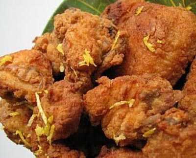 น่องไก่ทอดปาปริกา