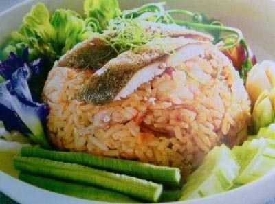 ข้าวผัดปลาทูเสวย