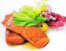 ปลาแซลมอนย่างซอสซีอิ๊ว