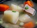 แกงต้มจืดหมูมันแกวแครอท