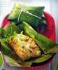 ห่อหมกมะพร้าวอ่อนปลากะพง